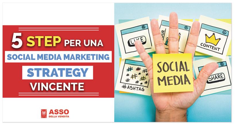 5 Step per una Social Media Strategy Vincente