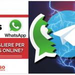 Telegram VS WhatsApp: quale scegliere per il Business Online?