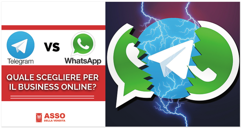Telegram VS WhatsApp: quale scegliere per il Business Online?